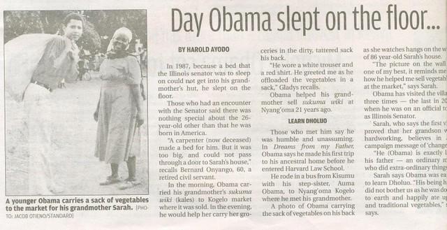 Obama Mania