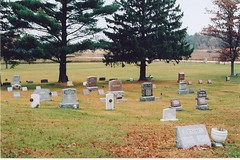 Old Country graveyard