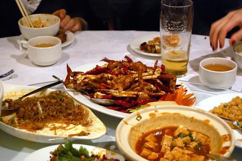 Spicy Sichuan Crab