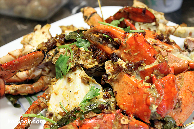 Garlic and Butter Crabs