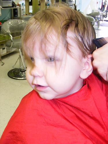 First Hair Cut #2