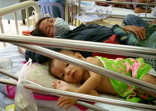 Healthy Mother Sick Child, Children's Hospital, Phnom Penh