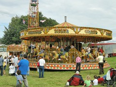 Carousel at the Hatfield house Country Show