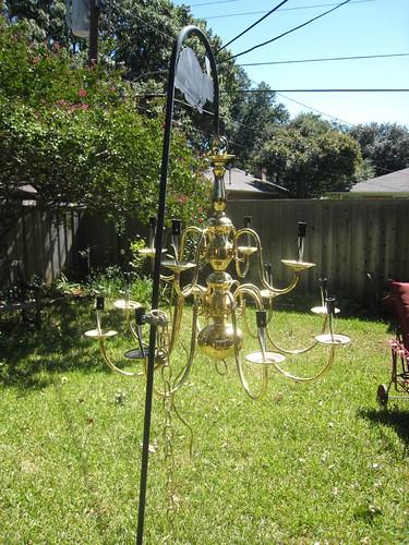 Craigslist chandelier