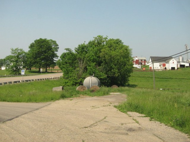 The end of the Gratiot alignment