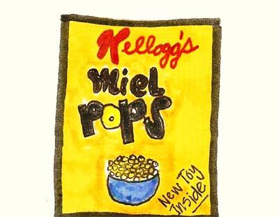 Miel Pops Cereal