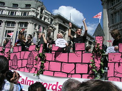 Gay and Lesbian Switchboard, London Pride 2008.