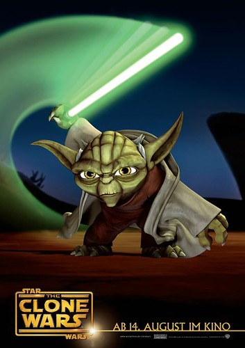 Star Wars: The Clone Wars (2008) poster 3