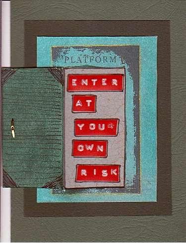 Door Card Three - Inside