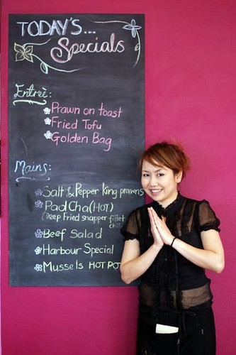 Today's Specials at Harbour View Thai Restaurant, Shellharbour Village by you.