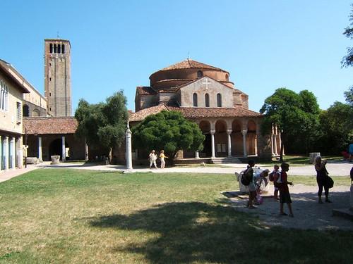 Chiesa di Santa Fosca e Maura, con campanile della Cattedrale
