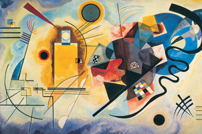 Kandinsky - Yellow Red Blue