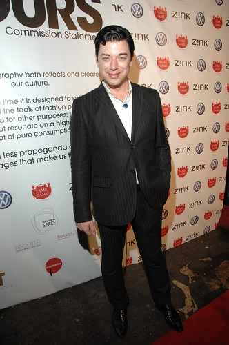 Malan Breton on the red carpet in an Ember Heart Pendant