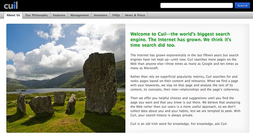 Cuil - Search
