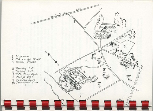 Map of Dowling College campus circa 1968.