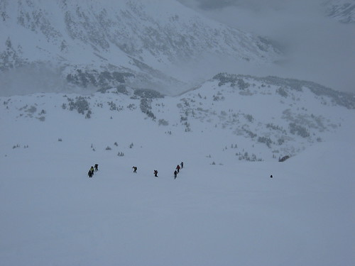 The 10th Turnagain Mountain Division hot on my trail