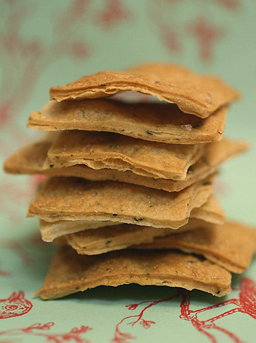 Artisan Herb Crackers