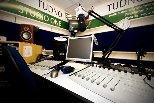 Tudno FM Studio