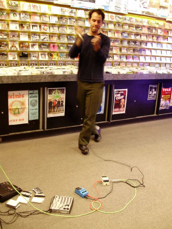 Mattress live! in-store performance at Music Trader on May 30 2008