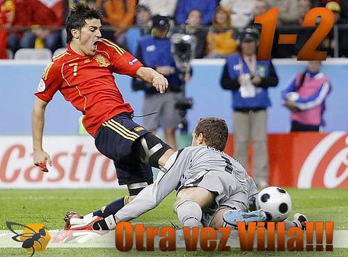 Villa goleador