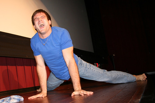 my leg! oh, god, leg cramp!!!