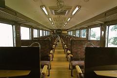 Classic train's cabin