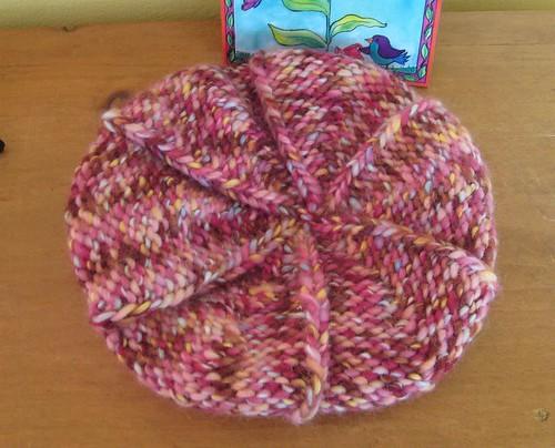 Knit Pageboy Cap w/ Brim