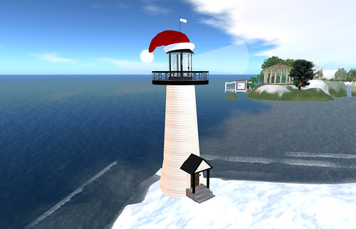 Santa Lighthouse at Edloe 12-12-2008