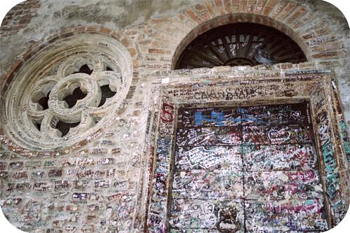 IT Verona CasaDiGiulietta Graffiti HouseOfJuliet