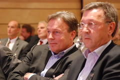 Thomas Oppermann und Holger Ortel