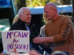 John McCain and Joe the Plumber