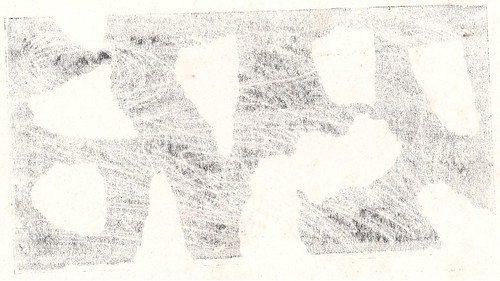 Monoprint B&W 05