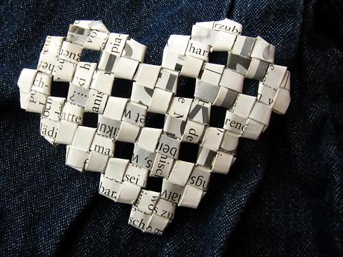 woven heart