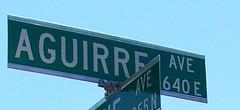 Aguirre Avenue