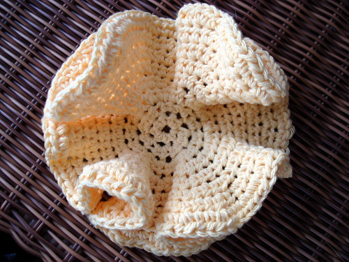 Hyperbolic Dishcloth
