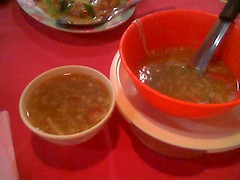Sibu's Ruby crab meat soup