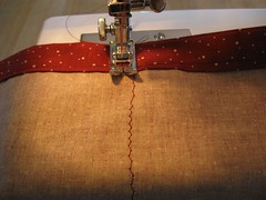 Sewing the side seams II