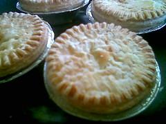 Chicken pies - frozen