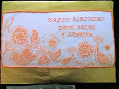 Henna-look Cake
