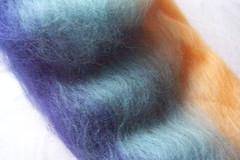 Wild Siberian Iris -  fiber blend
