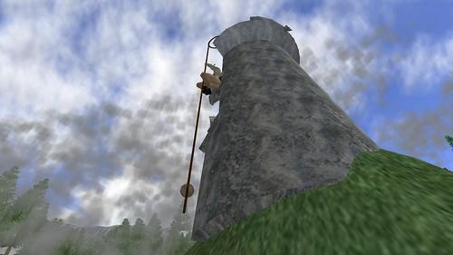Climbing Rodeo Tower 2