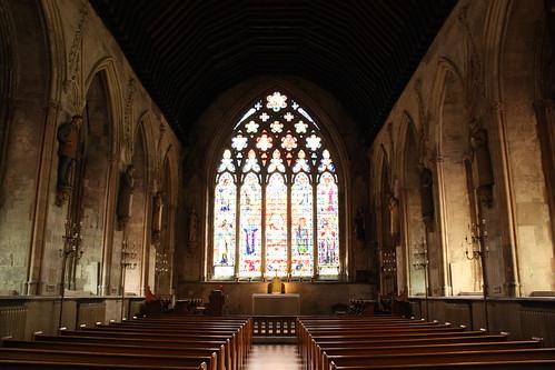 Inside St Etheldreda's by Lawrence OP.