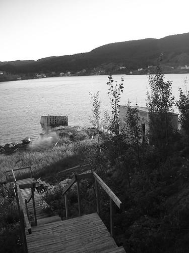 That wharf, she be leaving