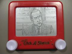 Joe Biden by etchasketchist