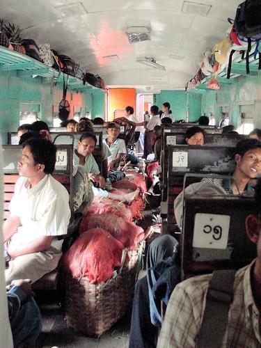Tren de Hsipaw a Mandalay