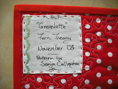 Gnomlette Label