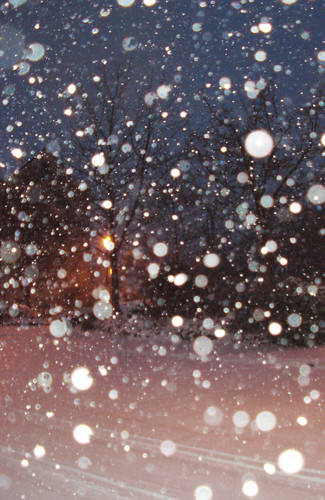 Heavy Snowfall Before I Took The Journey