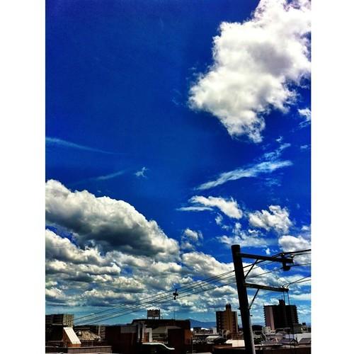 今日の空、もう夏だね! #summer