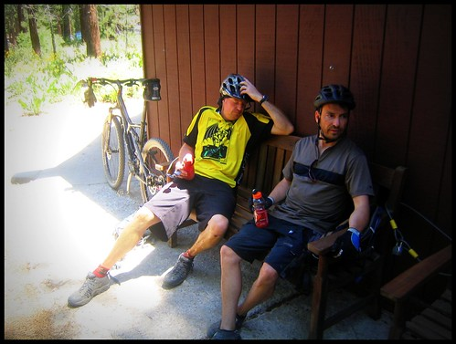 Break Time at Flume Trail Bikes