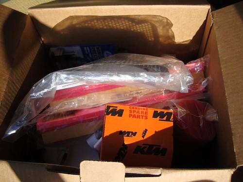 KTM box
